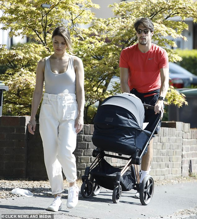 Stunner: the mother of a child Chloé welcomed her son Beau with his partner Danny in October and the group has lived in happiness since