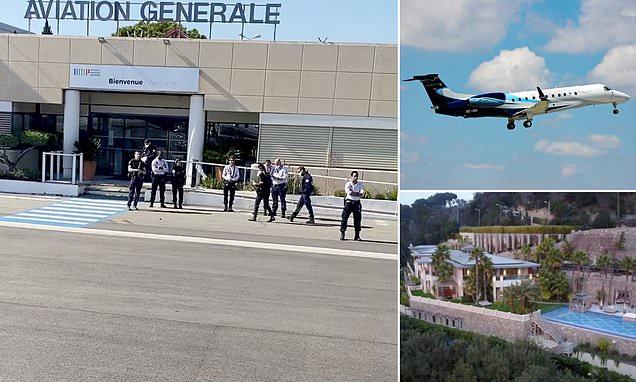 Police intercept private jet full of billionaires in south of France
