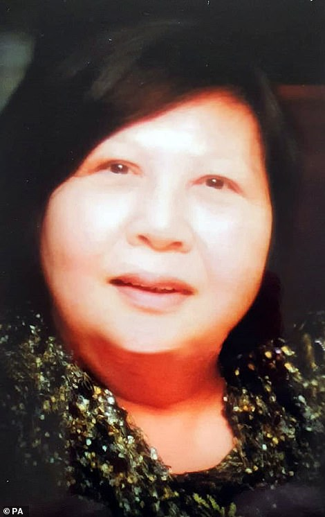 Nurse Alice Kit Tak Ong (photo), 70, died on Tuesday, daughter said