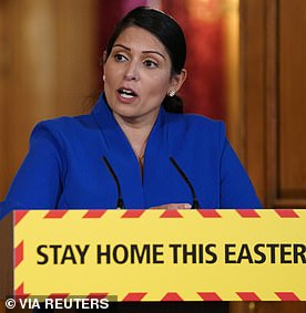 Interior Minister Priti Patel said she was sorry if anyone thought there had been failures in the provision of personal protective equipment (PPE) for health workers in the fight against the coronavirus pandemic