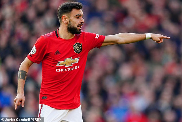 United midfielder Bruno Fernandes would like to have a clinical finisher like Kane to settle in