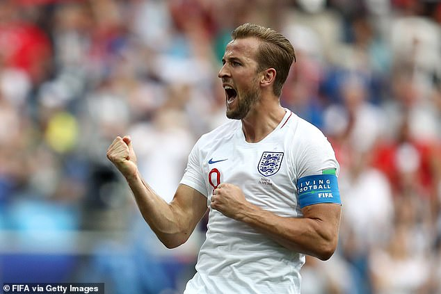 The English captain was the top scorer of the 2018 FIFA World Cup in Russia with six goals