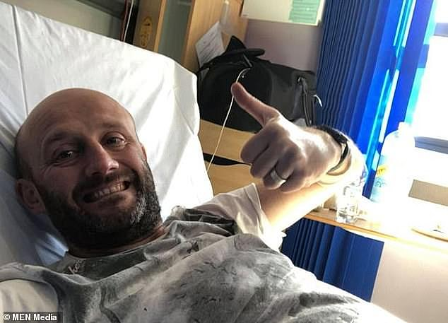 Andrew, a father of four, said the coronavirus was `` the worst week of my life '' and that he had been `` out of breath from the lung inflammation it caused ''.