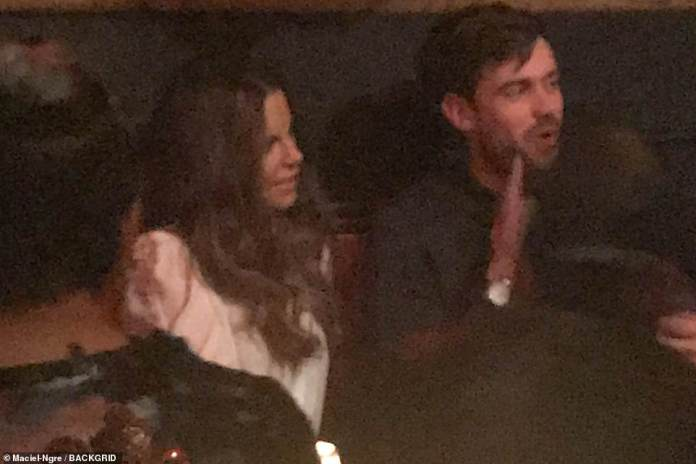 Chemistry: Beckinsale was romantically linked to Jack Whitehall, 30, in 2018