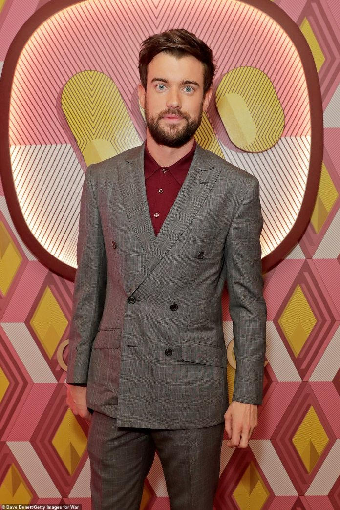 Former flame: Kate was also romantically linked to 30-year-old comedian Jack Whitehall in 2018 (photo 2020)