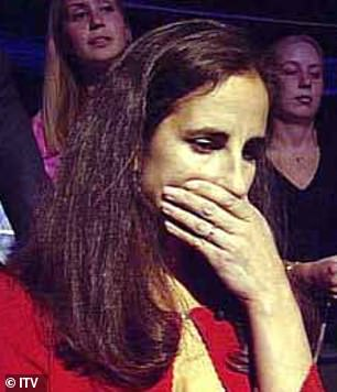 Throat irritated? Diana tried to answer with a cough while sitting in the audience, which caught the attention of the producers