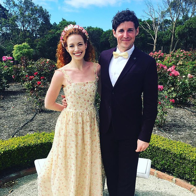 Whirlwind:The couple got engaged in May 2015, said 'I do' in rural New South Wales in April 2016 and then shocked fans by announcing their split in August 2018