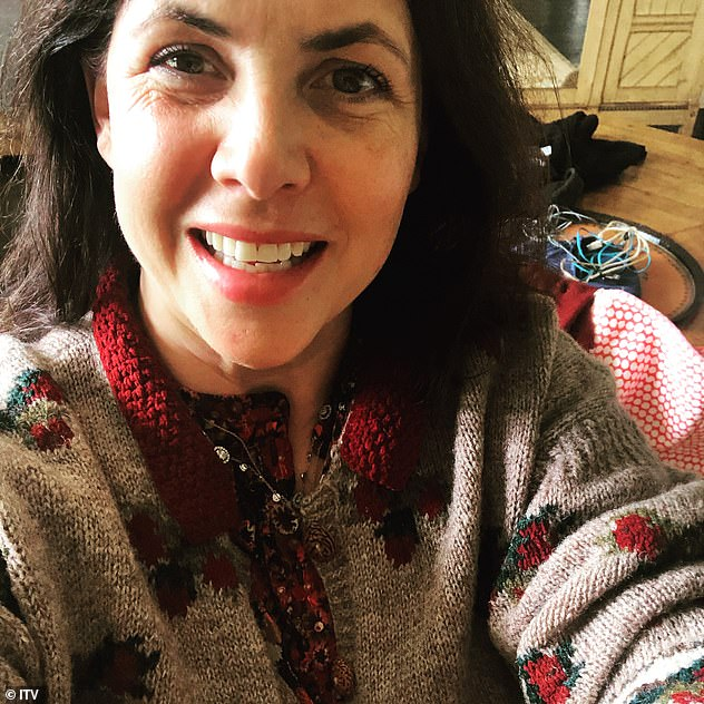 Return strike: Last month, Kirstie Allsopp was forced to report rumors that she was traveling in self-isolation with symptoms of coronavirus
