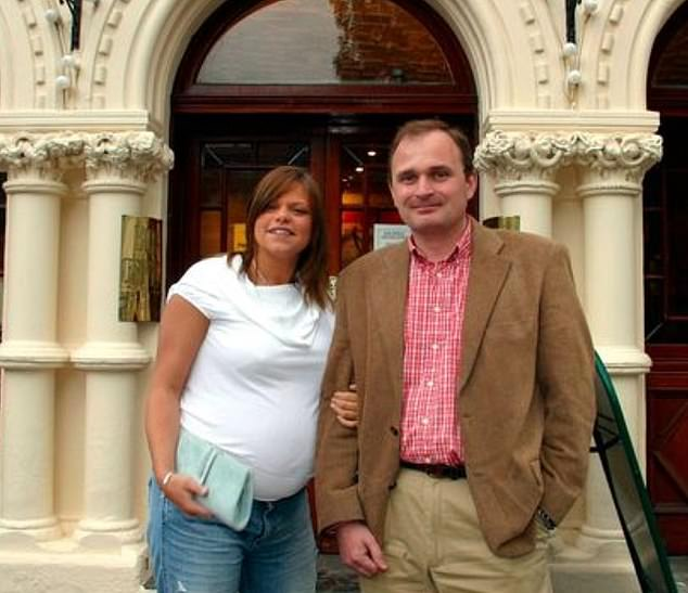 Sweet: The first stop on their famous train was Wife Swap with 21-year-old Jade who was pregnant with her and Jeff's eldest son Bobby, now 16, at the time.