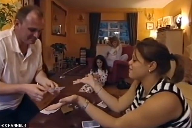 Quite a long time ago: Quiz fans marveled at Charles and Diana Ingram's cheater (Charles pictured on the Celebrity Wife Swap with the late Jade Goody)
