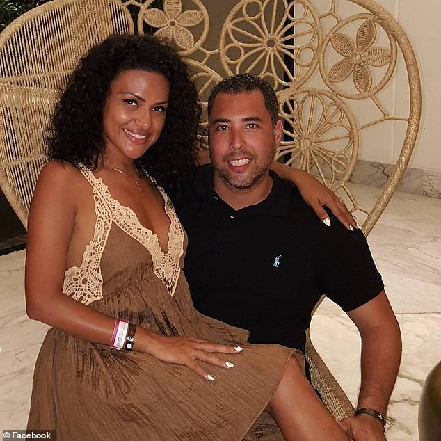 Despite the feverish coverage of Meghan's life and romantic history, Luis has surprisingly stayed under the radar. He is currently living a comfortable life with the woman looking like Meghan Christina (pictured together) - who runs her own beauty business - and their two sons.
