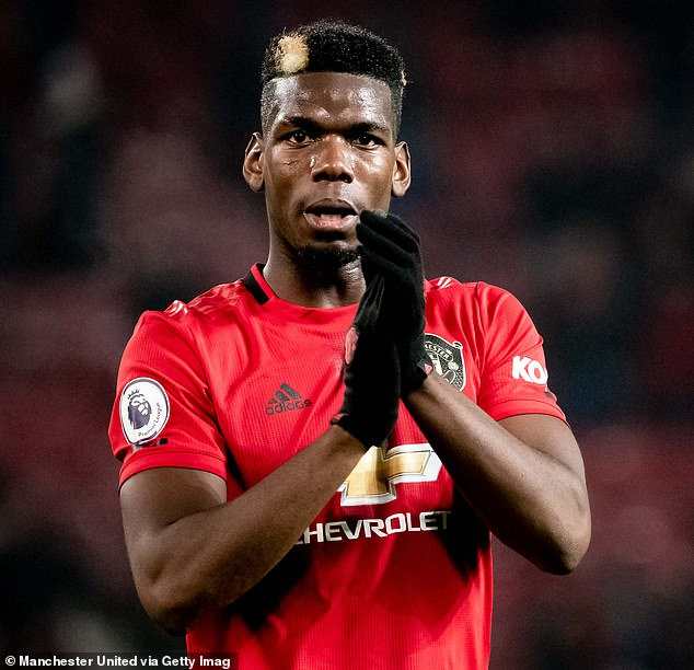 Paul Pogba could be part of a crowd of prominent players forced to wait another year for lucrative transfers in the aftermath of the coronavirus pandemic that has crippled all football