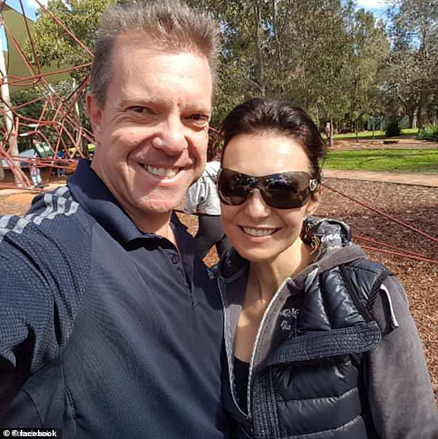 Bitcoin entrepreneur John Bigatton (left), whose wife Madeline (right) vanished in mysterious circumstances in March 2018, is under investigation by the Australian Federal Police for money laundering. If charged and found guilty, Mr Bigatton could face up to five years in prison