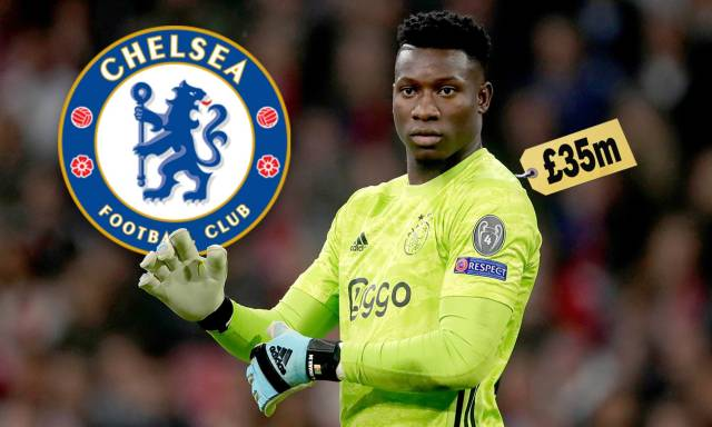Ajax 'put £35million price tag on Andre Onana' as Chelsea weigh up ...