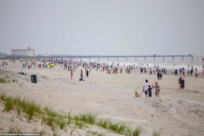 Jacksonville Beach is open after Mayor Lenny Curry decided to make it one of Florida's first beaches to reopen during the coronavirus pandemic