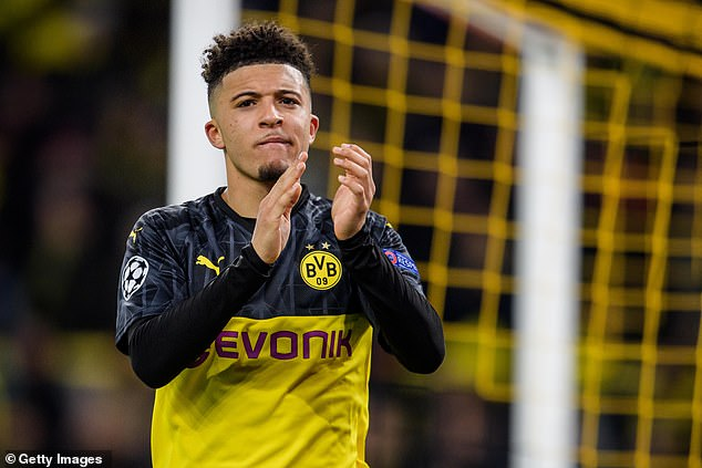 Jadon Sancho's return to the Premier League from Dortmund has long seemed to be happening
