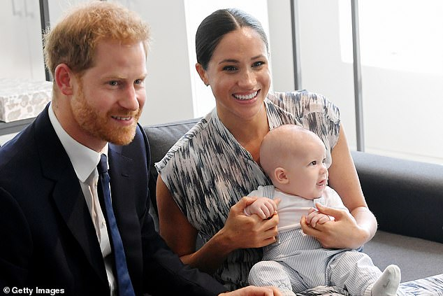 The Duke and Duchess of Sussex have said they will no longer respond to enquiries from journalists at some British papers. Pictured with son Archie Mountbatten-Windsor during a royal tour of South Africa, September 25, 2019