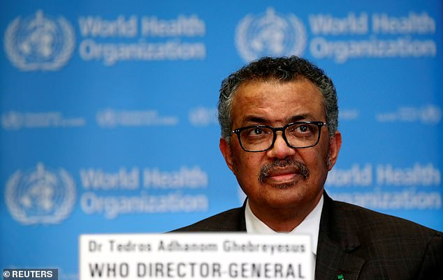World Health Organization Director General Tedros Adhanom Ghebreyesus says worrisome statistics will continue to worsen before improving, saying the worst is yet to come