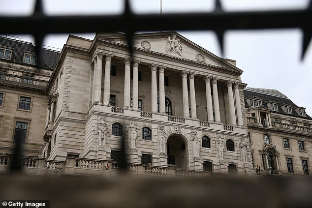 Savers' misery: Bank of England expected to keep frozen rates at historic lows of 0.1% until at least the end of 2021, Reuters economists poll finds