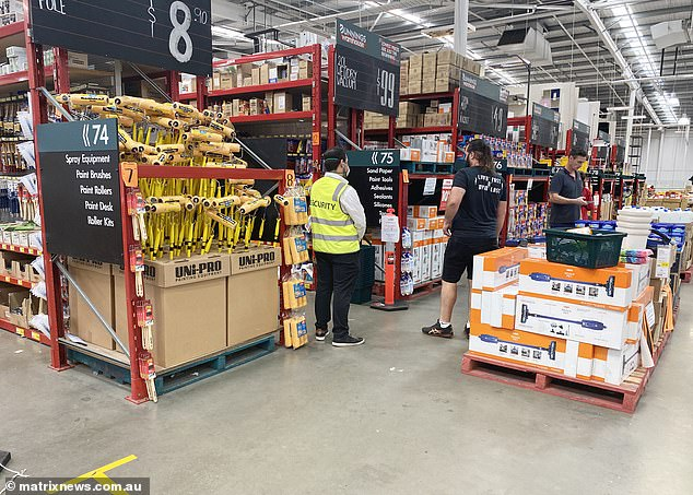 One caller asked if they could go to Bunnings to have a day out of the house, Sergeant Gavin Buchan said. Pictured: A Bunnings store in Sydney