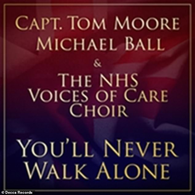 Success! Captain Tom and Michael's hit version of the Liverpool Football Club anthem You'll Never Walk Alone has also become the best-selling single of 2020