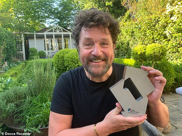 Number one! It is also the first time that Michael has managed to win a No. 1 single