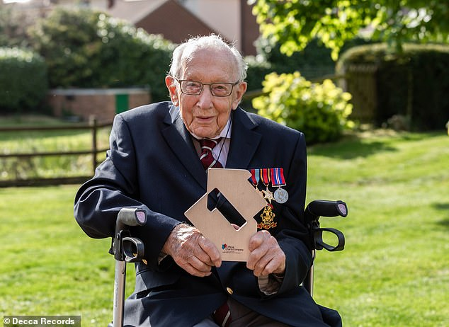 Field! Captain Tom Moore became the oldest person to have a # 1 single after his song with Michael Ball reached the top of the British charts
