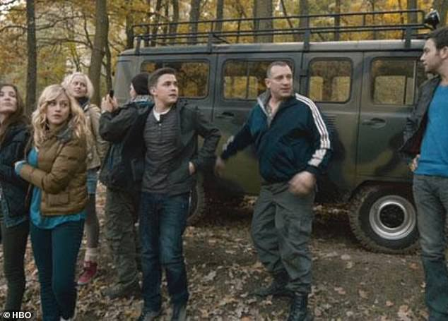 His blockbuster movie: the 2012 thriller Chernobyl Diaries is what he is best known for. The actor played Yuri, a Ukrainian tour guide (seen second on the right)
