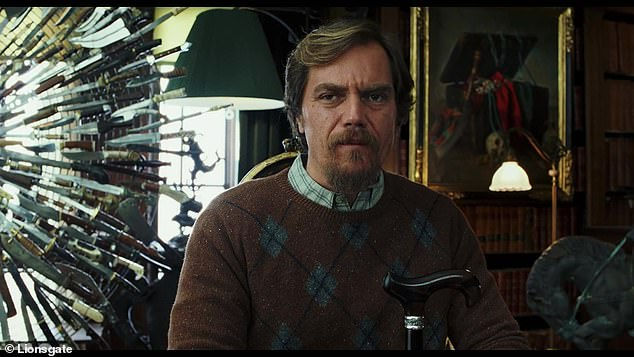 Honest: Michael Shannon praised Knives Out director Rian Johnson for his original whodunit on Friday... as he blasted remakes including Kenneth Branagh's Murder On The Orient Express