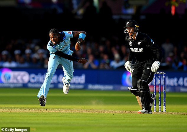 Archer also knocked down the super historic in Lord's final against New Zealand