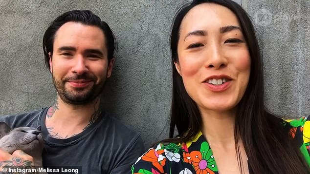 Hmm:Melissa had also shared a post on their anniversary in February, describing their marriage as 'a non-stop blockbuster of action' and 'drama'