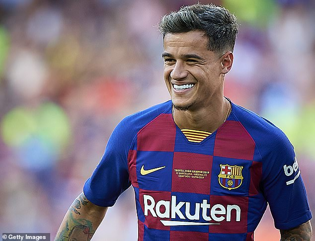 Barcelona made club record Philippe Coutinho available for a swap