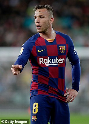 Arthur Melo joined Barcelona from Gremio in 2018