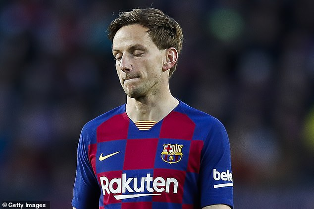 Barcelona also plans to sell Ivan Rakitic, Tottenham interested