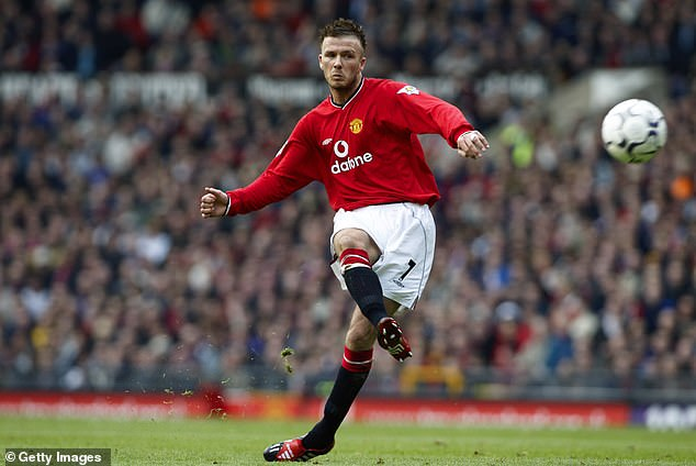 Meanwhile, former English skipper Beckham took care of the ball as if his life depended on it