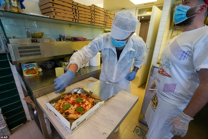 Italy has already authorized the reopening of restaurants for delivery, and plans to resume takeout services on May 4