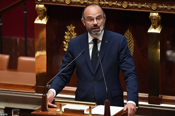 French Prime Minister Edouard Philippe added that restaurants and bars will remain closed after May 11 and that restrictions will only be lifted if the total of daily infections remains below 3,000.
