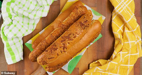 Subway also ashed the recipe for the recipe for their popular Italian Herbs and Cheese Bread