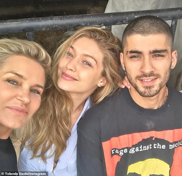 Good news: Gigi Hadid's mother, Yolanda Foster, confirmed the news of her daughter's pregnancy with her boyfriend Zayn Malik in a new interview.