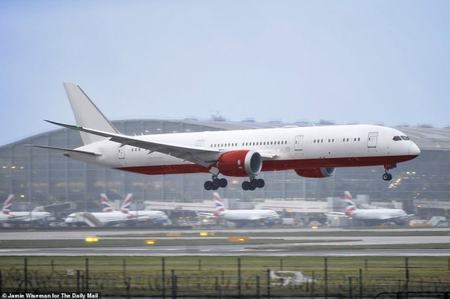 1. Cargo lands at Heathrow:Chartered Mail Force jet arrives in UK loaded with its life-saving cargo of protective kit
