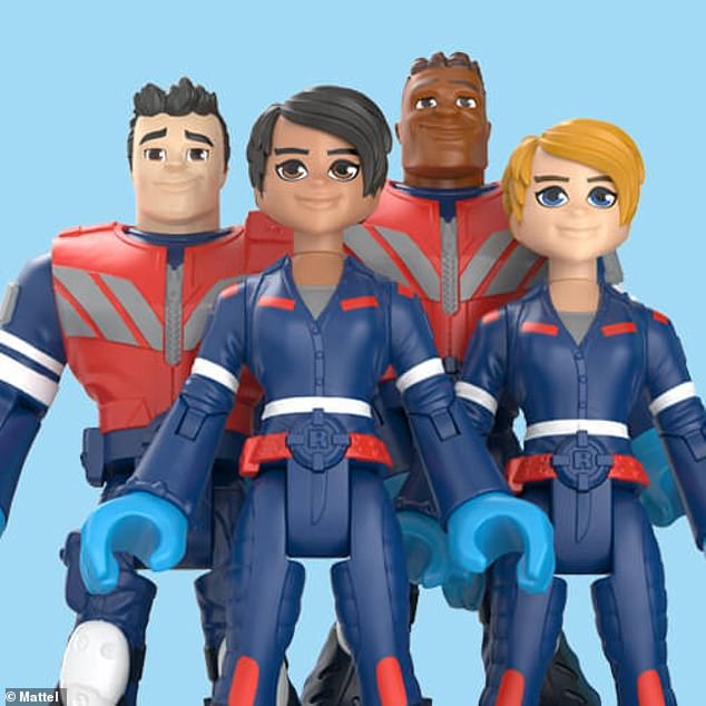 The 'Thank You Heroes' toy line emergency medical technicians collection is pictured