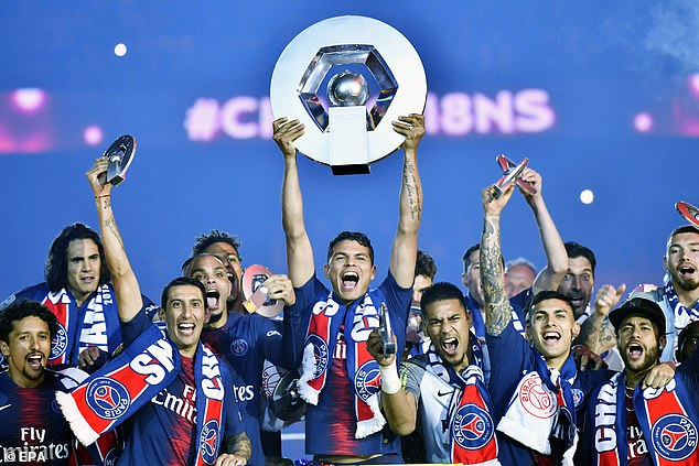 Paris Saint-Germain would have received the title of Ligue 1 for the 2019-20 season