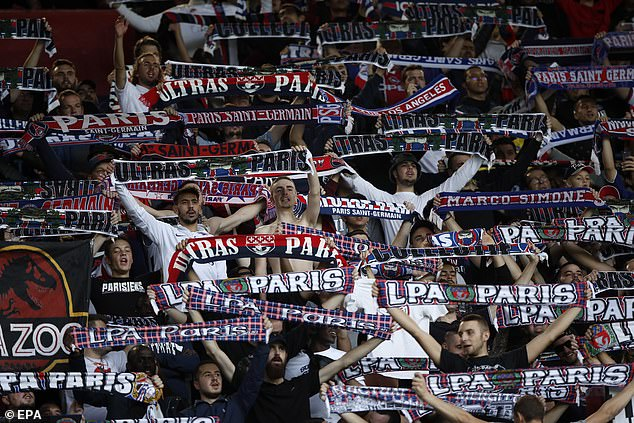 Paris Saint-Germain fans will celebrate after it has been announced that they will receive the title