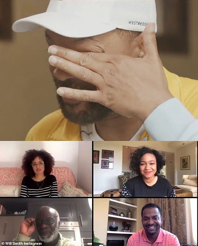 Rest in peace: during the Snapchat episode, Will played a tribute video to the cast dedicated to Avery which included a mashup of some of his best moments from the series and viewers were able to watch each of the actors react to the clips in real time