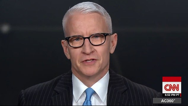 Cooper choked on the air and told viewers that he shared the news with CNN contributor Dr. Sanjay Gupta a few days ago.