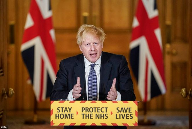 Boris Johnson told the Downing Street briefing last night that the figures covered tests 'carried out', rather than merely posted