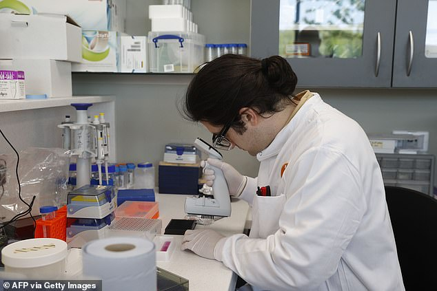 More than 120 drugs are being studied in the treatment of coronavirus. Protein scientist Simon Varzandeh is working on the development of a coronavirus vaccine at Oxford Science Park in Oxford