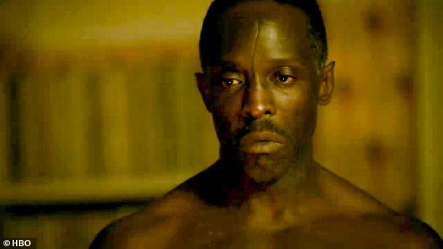 MIA: We get our first look at his father Montrose Freeman, played by The Wire's Michael K. Williams