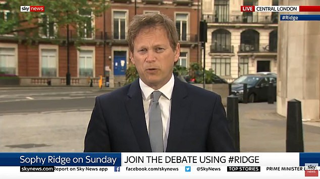 An NHS coronavirus contact finder will be tested on the Isle of Wight this week before it is rolled out nationwide later in May, said Transportation Secretary Grant Shapps (photo).