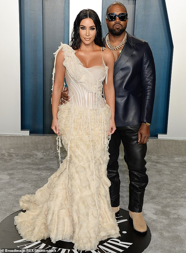 Difficulties in heaven: Kim and her husband Kanye West, 42, have recently been the subject of rumors that their relationship is in trouble amid quarantine